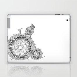 Penny Farthing with Bird Laptop & iPad Skin