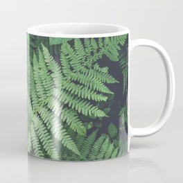 Fern Bush Nature Photography | Botanical | Plants Coffee Mug