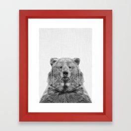 Bear European Framed Art Print