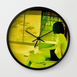 Teahouse Wall Clock