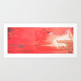 The Turnabout -  That sudden moment when you realise things have changed Art Print