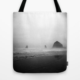 cannon beach . holga Tote Bag