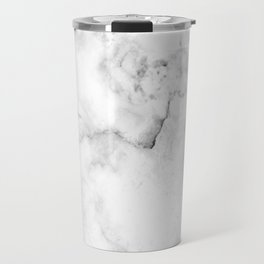 White Marble Travel Mug