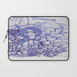 Cover Art_ Ink Concept Sketch Laptop Sleeve