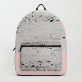 Blush on Concrete #1 #decor #art #society6 Backpack