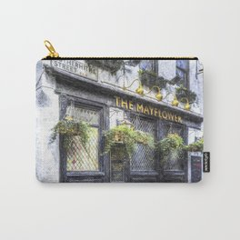 The Mayflower Pub London Art Carry-All Pouch