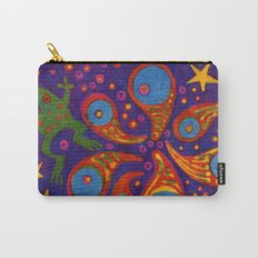 Space Frog batik Carry-All Pouch