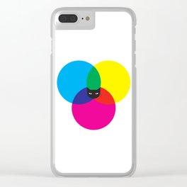 CMYKAT Clear iPhone Case