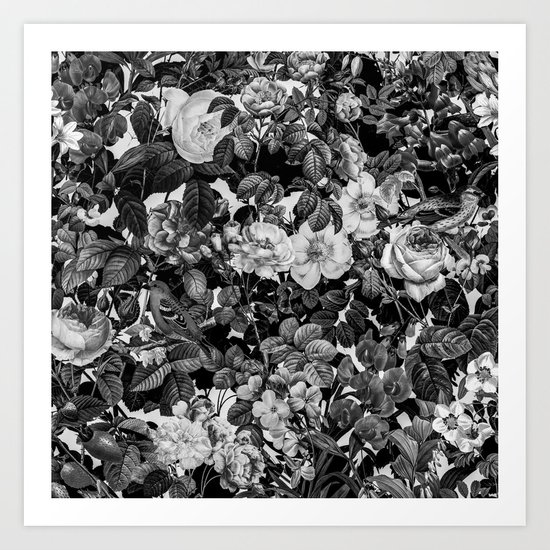 Floral Pattern II Art Print