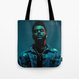 Portrait of the.Weeknd Tote Bag