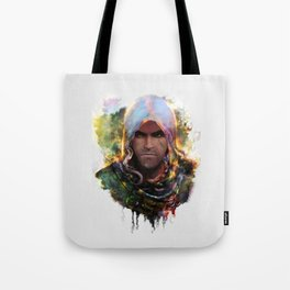 witchers creed Tote Bag