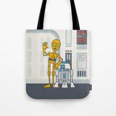 EP4 : C3PO & R2D2 Tote Bag