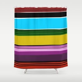 Serape 2 Shower Curtain