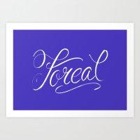 Foreal (Hip Hop Calligraphy I) Art Print