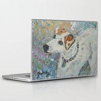 virginia Laptop & iPad Skins featuring Virginia by gretzky