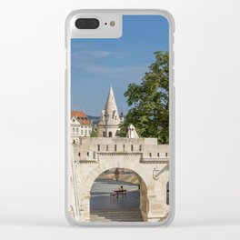 Budapest Fisherman's Bastion Clear iPhone Case