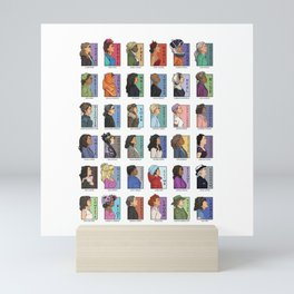 She Series - Real Women Collage 1-4 Mini Art Print