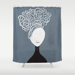 Iconia Girls - Hanna March Shower Curtain