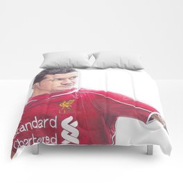 Coutinho Ballpoint Pen Drawing.  Comforters