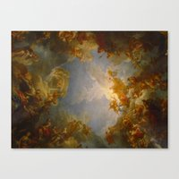 baroque Canvas Prints featuring Baroque by Tori Beretta