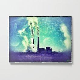 Smokestack  Metal Print