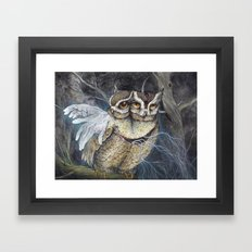 the Sleepless Night Framed Art Print