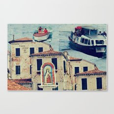 Maria, it's time to teenage riot Canvas Print