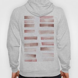24  | 181101 Watercolour Palette Abstract Art | Lines | Stripes | Hoody