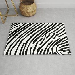 Skin of a zebra Rug