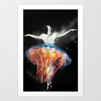 Pelagia colorata Art Print