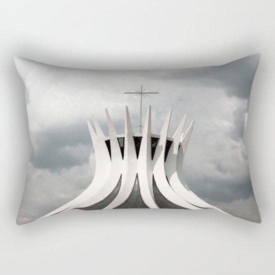 Cathedral   Brasília   Brazil Rectangular Pillow