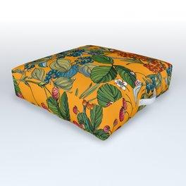 Vintage Garden VII Outdoor Floor Cushion