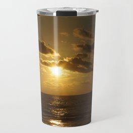 Summer Sunset Travel Mug