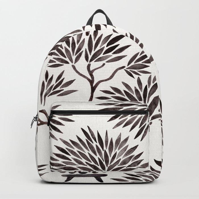 Bonsai Tree – Black Palette Backpack