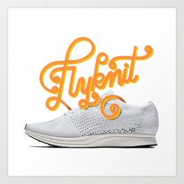 OG Kicks Series | Flyknit Art Print