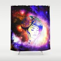 iris Shower Curtains featuring Iris  by haroulita
