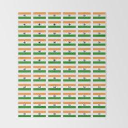 Flag of India 2-indian,mumbai,delhi,hindi,indus,buddhism,hinduism,buddha,gandhi Throw Blanket