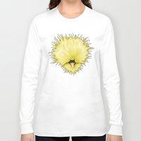 chicken Long Sleeve T-shirts featuring Chicken by Compassion Collective