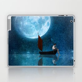 The Moon and Me Laptop & iPad Skin
