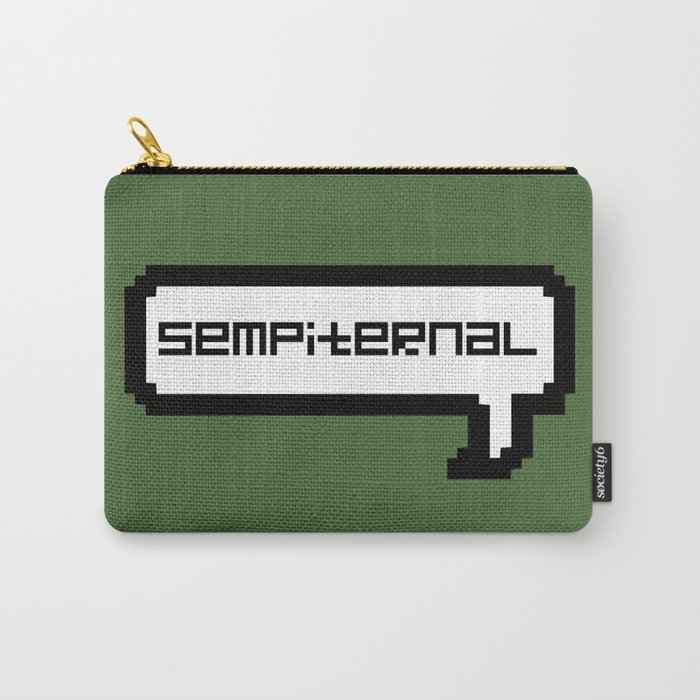 Sempiternal - Green Carry-All Pouch