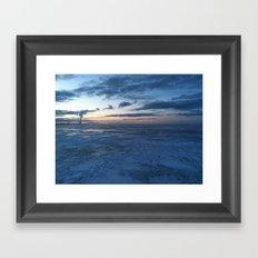 Lake Erie Winter Framed Art Print