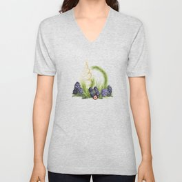 Swiss Pine Christmas Unisex V-Neck