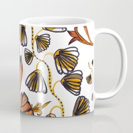 Art deco watercolor and hand drawn detailed artistic pattern Coffee Mug
