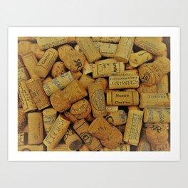 Warm Corks 2 Art Print