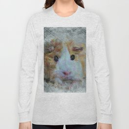 Artistic Animal Guinea Pig 3 Long Sleeve T-shirt