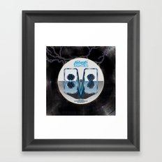 Future 80s Framed Art Print