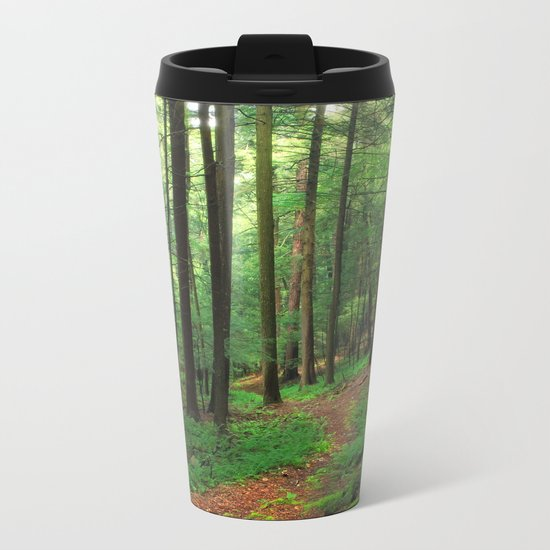 Forest 4 Metal Travel Mug