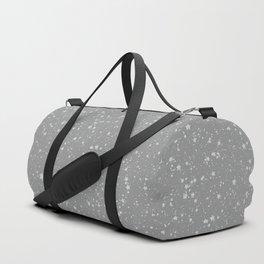 Glitter Stars4 - Silver Duffle Bag