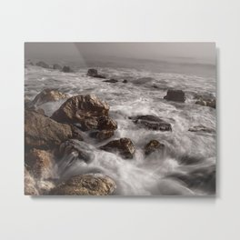 Stone Tides Metal Print