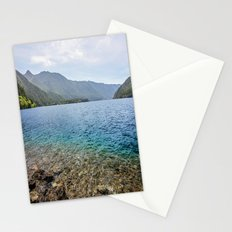 Crescent Lake Olympic Peninsula Stationery Cards